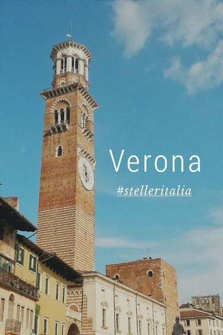 Verona #stelleritalia