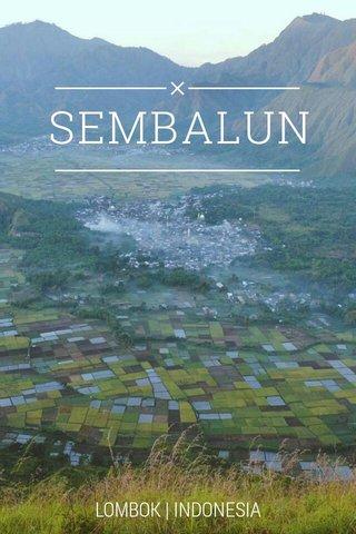 SEMBALUN LOMBOK   INDONESIA