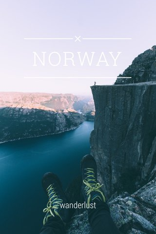 NORWAY wanderlust