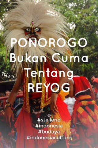 PONOROGO Bukan Cuma Tentang REYOG #stellerid #indonesia #budaya #indonesiaculture