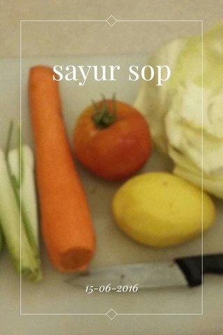 sayur sop 15-06-2016