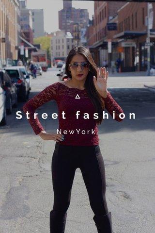 Street fashion NewYork