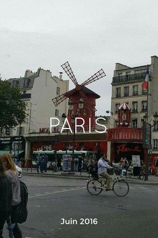PARIS Juin 2016
