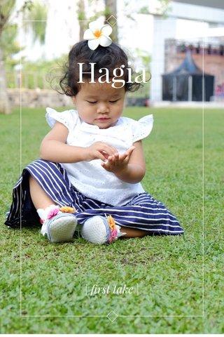 Hagia | first take |