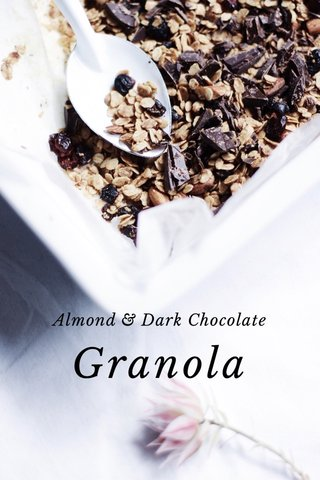 Granola Almond & Dark Chocolate