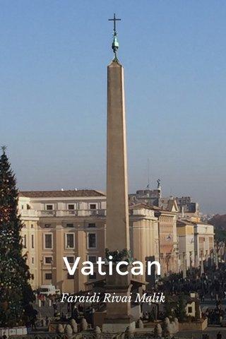 Vatican Faraidi Rivai Malik