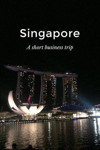 Singapore A short business trip