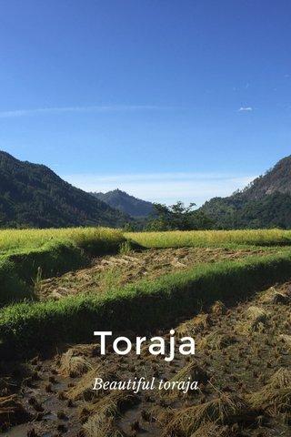 Toraja Beautiful toraja