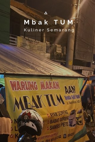 Mbak TUM Kuliner Semarang