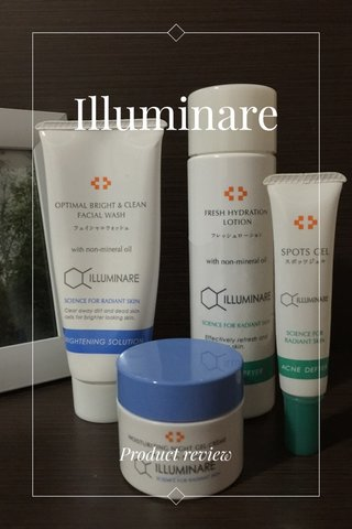 Illuminare Product review