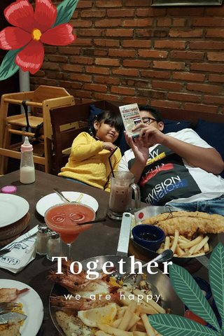 Together we are happy