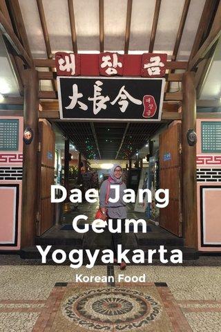Dae Jang Geum Yogyakarta Korean Food