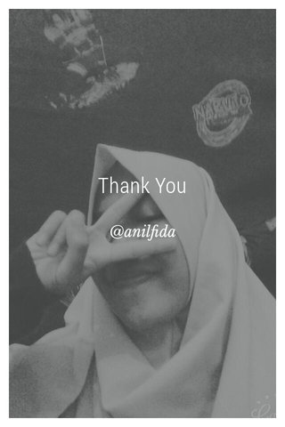 Thank You @anilfida