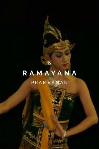 RAMAYANA PRAMBANAN