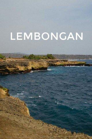 LEMBONGAN