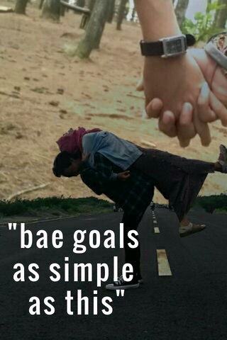 """bae goals as simple as this"""