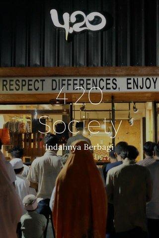 4.20 Society Indahnya Berbagi