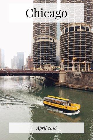 Chicago April 2016