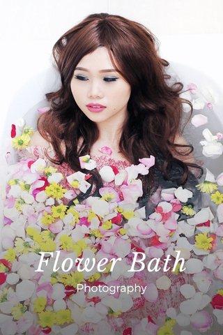 Flower Bath Photography