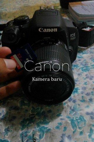 Canon Kamera baru