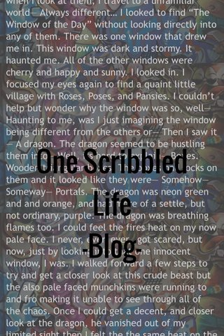 One Scribbled Life -Blog-
