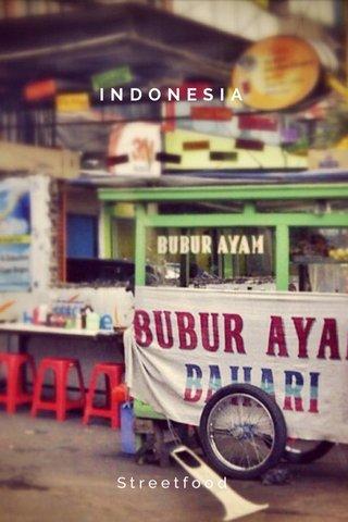 INDONESIA Streetfood