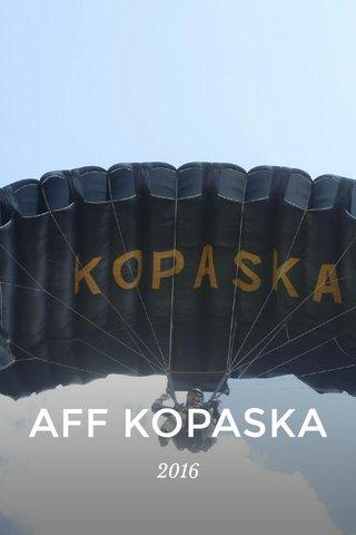 AFF KOPASKA 2016