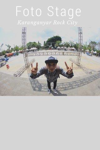 Foto Stage Karanganyar Rock City