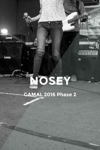 NOSEY GAMAL 2016 Phase 2