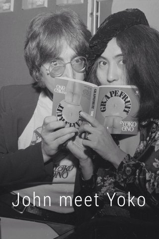 John meet Yoko
