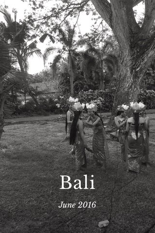 Bali June 2016