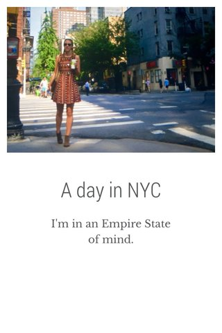A day in NYC