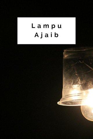 Lampu Ajaib