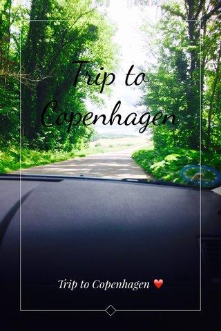 Trip to Copenhagen Trip to Copenhagen ❤️