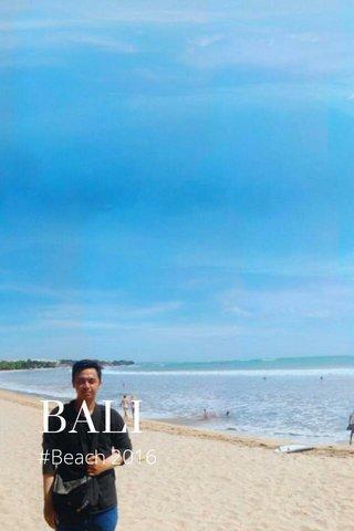 BALI #Beach 2016