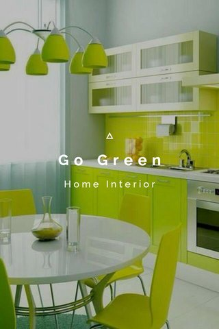 Go Green Home Interior