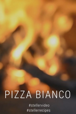 PIZZA BIANCO #stellervideo #stellerrecipes