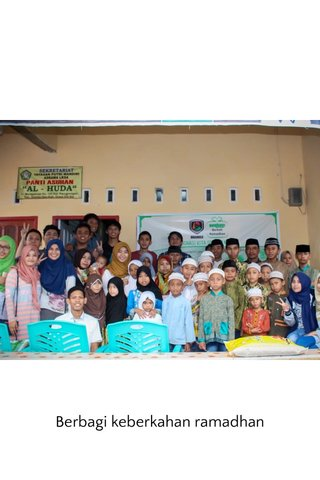 Berbagi keberkahan ramadhan