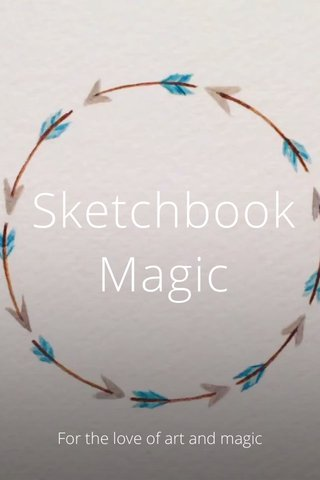 Sketchbook Magic For the love of art and magic