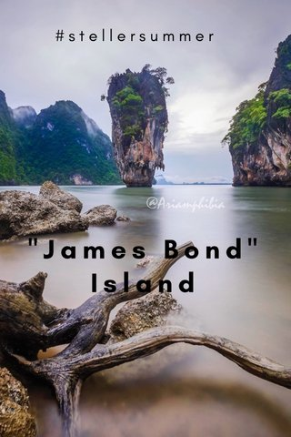 """James Bond"" Island #stellersummer"