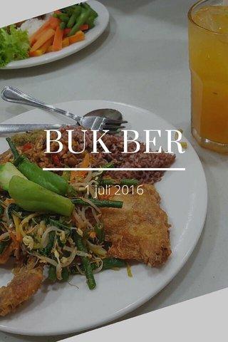 BUK BER 1 juli 2016