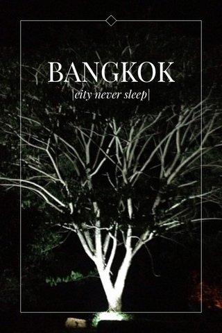 BANGKOK |city never sleep|