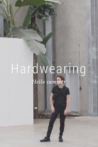 Hardwearing Hello summer