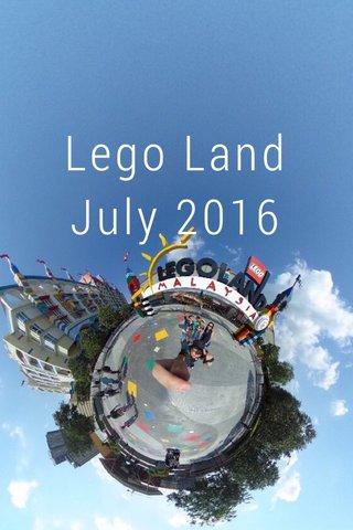 Lego Land July 2016