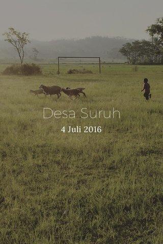 Desa Suruh 4 Juli 2016