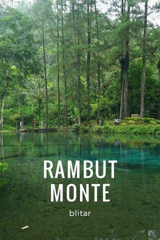 RAMBUT MONTE blitar