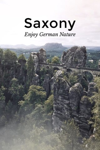 Saxony Enjoy German Nature