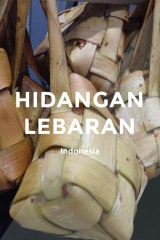 HIDANGAN LEBARAN Indonesia