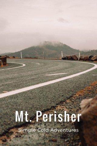 Mt. Perisher Simple Cold Adventures