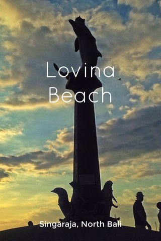 Lovina Beach Singaraja, North Bali